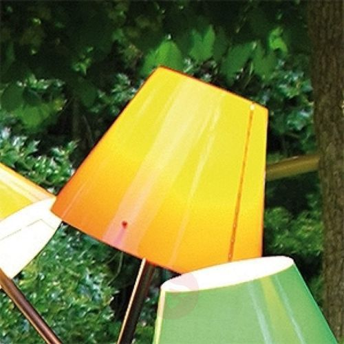 Pomarańczowy klosz do lampy OCTOPUS OUTDOOR