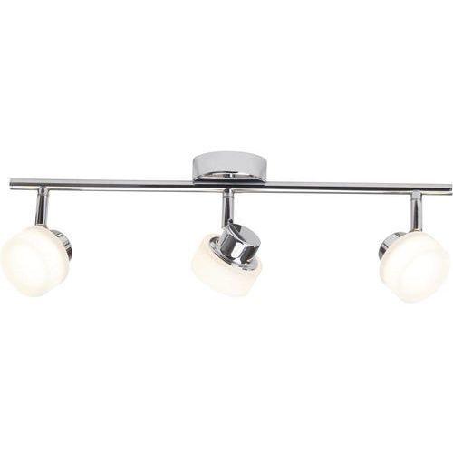 Lampa LED punktowa Brilliant G35416/15, LED, 3 x 5 W, 960 lm, Ciepły biały, 47.5 cm x 16 cm Chrom