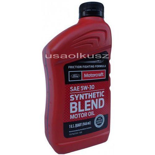 Syntetyczny olej silnikowy  5w30 1l ford wyprodukowany przez Motorcraft