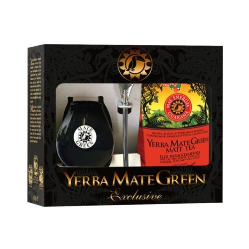 Yerba mate green 400g zestaw exclusive mas energia guarana