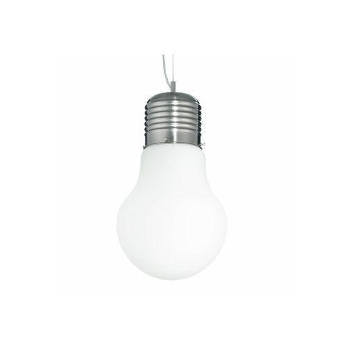 Ideal Lux 07137 - Lampa wisząca LUCE SP1 SMALL BIANCO 1xE27/60W/230V - sprawdź w wybranym sklepie