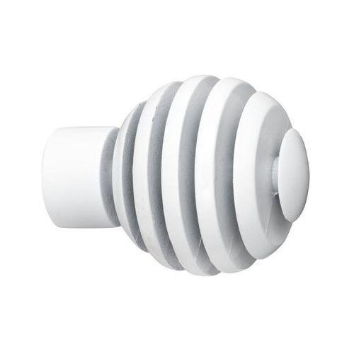 Końcówka do karnisza SPICE BALL biała 20 mm 2 szt. INSPIRE (3276005504790)