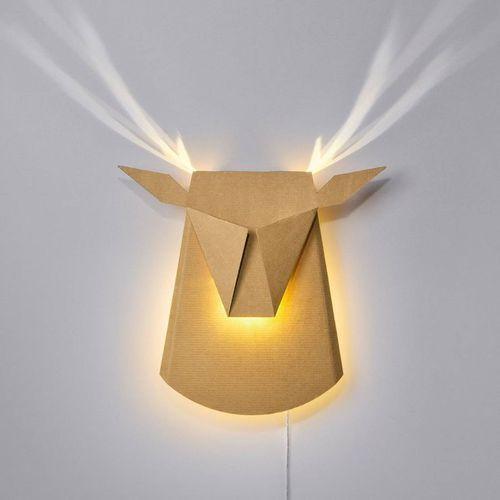 DEAR HEAD-Kinkiet LED Jeleń z wtyczką Dł.39cm (3663710135164)