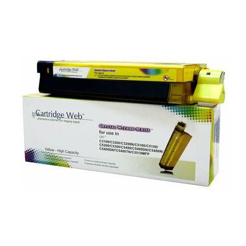 Toner yellow oki c3100/c5100/c5450 zamiennik 42804513/42127405/42127454, 5000 stron marki Cartridge web