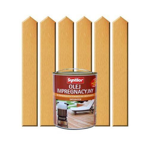 Olej impregnacyjny do tarasów saturator 1 l naturalny marki Syntilor