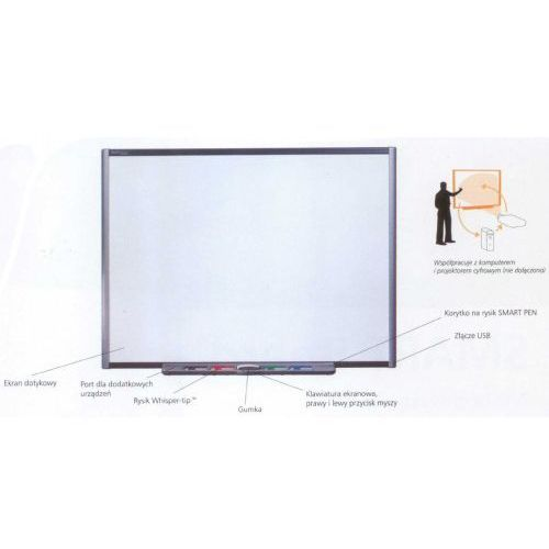 """PROMOCJA!!!Tablica interaktywna Smartboard SBM680 77"""" - CENA DLA PLACÓWEK OŚWIATOWYCH!, 19"""