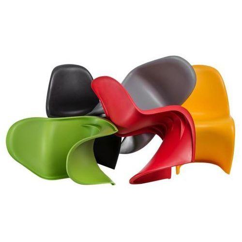 Krzesło Balance PP czarne, kolor czarny