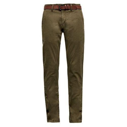 Q/S designed by spodnie męskie 34/32 zielony, kolor zielony