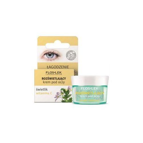 Floslek pielęgnacja oczu krem pod oczy rozświetlający świetlik-witamina c