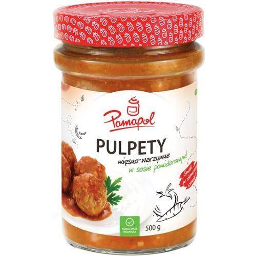 PAMAPOL 500g Pulpety w sosie pomidorowym | DARMOWA DOSTAWA OD 200 ZŁ (danie gotowe)