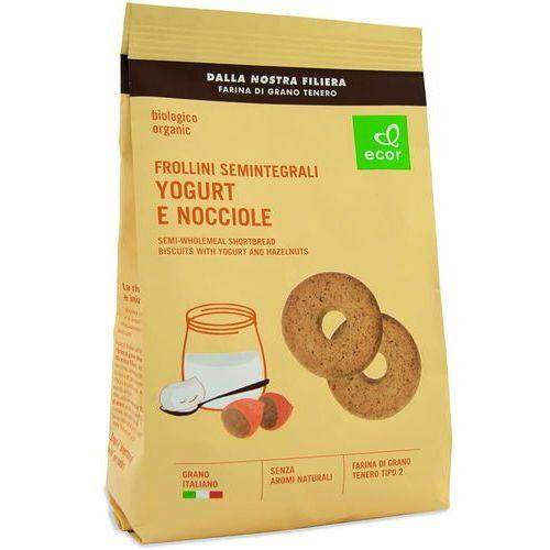 Ecor Ciastka jogurtowe z orzechami laskowymi bio 350 g (8019010347816)