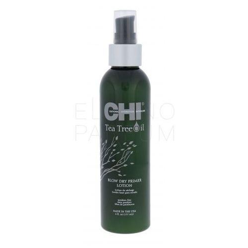 Farouk Systems CHI Tea Tree Oil Blow Dry Primer Lotion stylizacja włosów na gorąco 177 ml dla kobiet