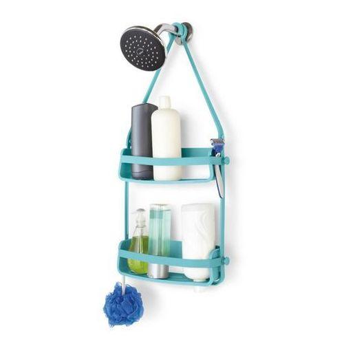 UMBRA - Flex Shower Caddy Półka pod prysznic, turkus