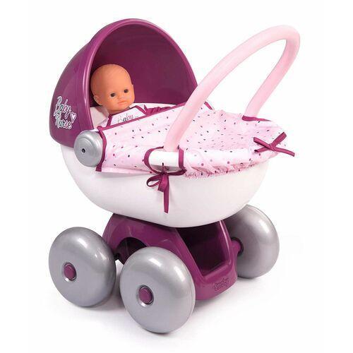 Smoby Baby Nurse Wózek głęboki gondola dla lalek Calin, 1_694800