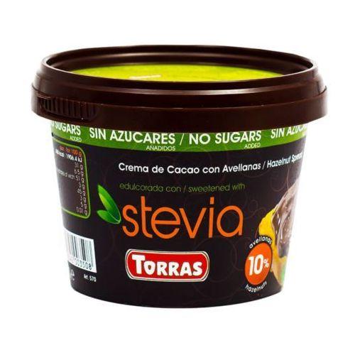 Krem kakaowo-orzechowy ze stewią 200g TORRAS