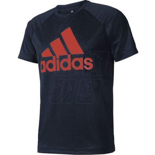 Koszulka treningowa  designed 2 move tee logo m ce6680 marki Adidas
