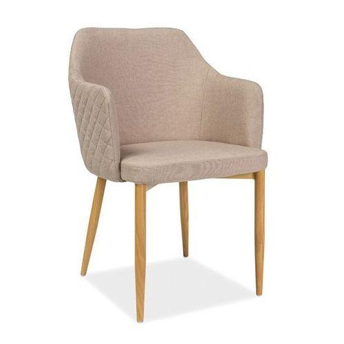 Krzesło astor beż marki Signal meble