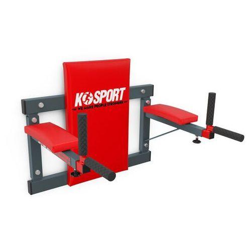 Poręcz treningowa do ćwiczeń mięśni brzucha ścienna KSH004/SK (5907618100045)