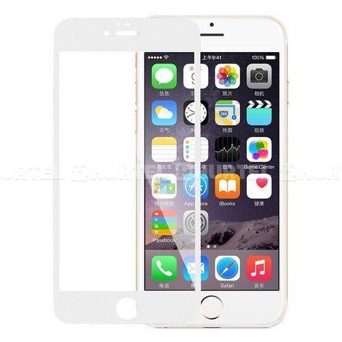 X-doria  crystal blue - szkło ochronne na cały ekran iphone 6s plus / iphone 6 plus z filtrem światła niebieskiego (biała ramka)