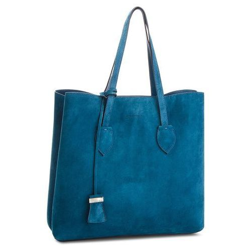 Torebka COCCINELLE - CH6 Celene Suede E1 CH6 11 01 01 Saphir/Saphir B02, kolor niebieski
