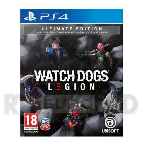 Ubisoft Watch dogs legion - edycja ultimate + figurka