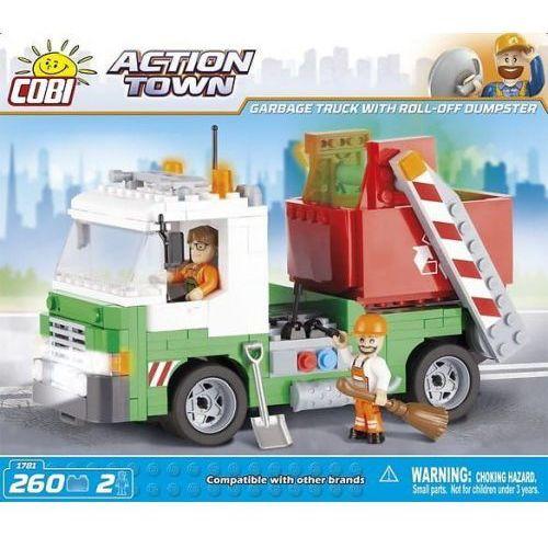 Action Town Śmieciarka kontenerowa