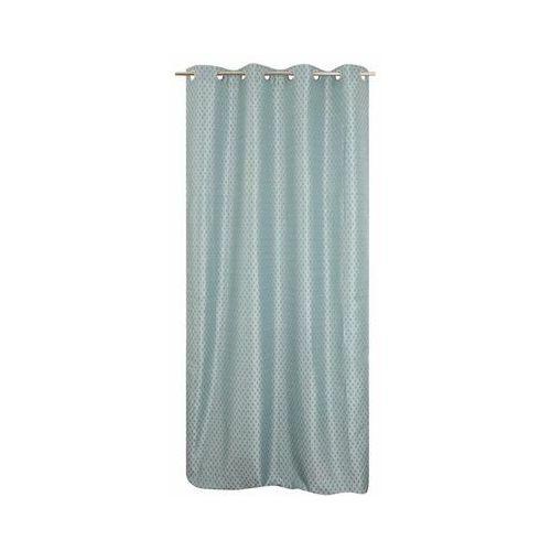 Jby Zasłona joral niebieska 135 x 260 cm na przelotkach