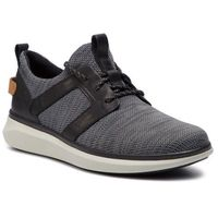 Clarks Sneakersy - un globe lace 261408147 black combi