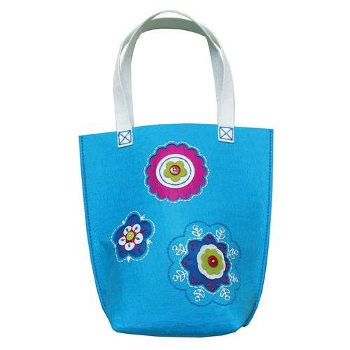Stnux Filcowe robótki torba duża niebieska (5901583292316)