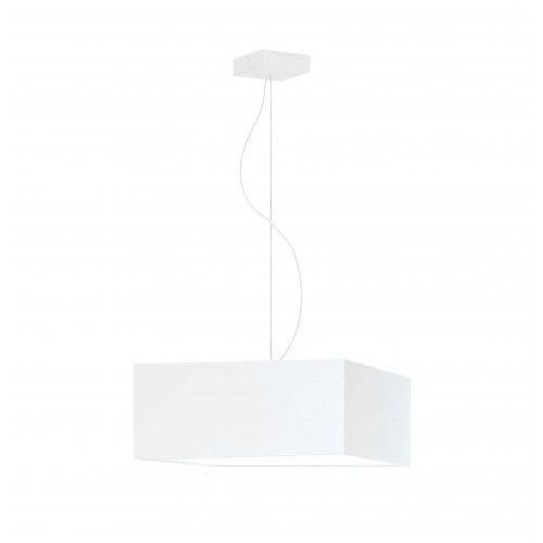Lysne Biała lampa sufitowa sangria stal szczotkowana, 1 x e27 (w cenie), bez denka