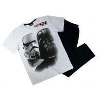 Męska piżama star wars ''darth'' biała l, Star wars - gwiezdne wojny