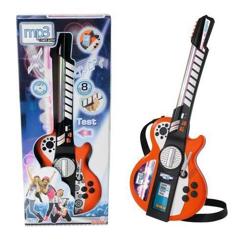 gitara rockowa z efektami świetlnymi i dźwiękowymi marki Simba