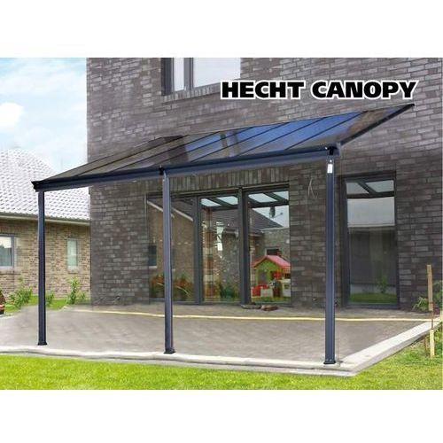 Hecht czechy Hecht canopy wiata garażowa ogrodowa tarasowa zadaszenie aluminiowa 435x206/ 258x303 cm- oficjalny dystrybutor - autoryzowany dealer hecht