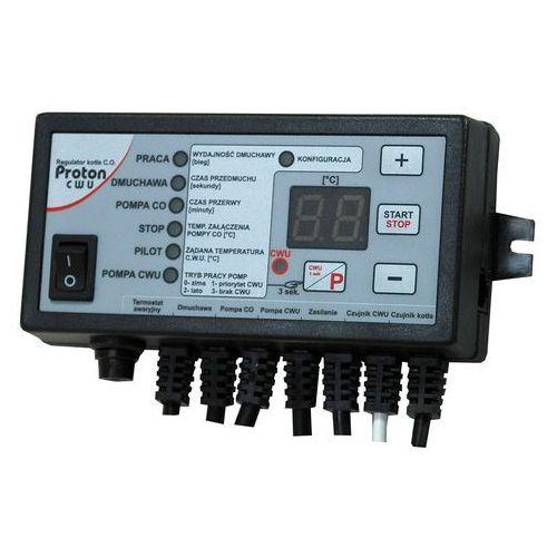 Regulator temperatury, sterownik do kotła zasypowego PROTON - wersja c.w.u.