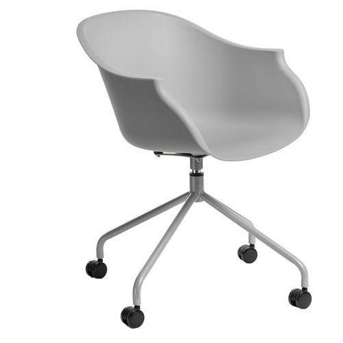 D2.design Krzesło na kółkach roundy szare - d2 design - zapytaj o rabat!