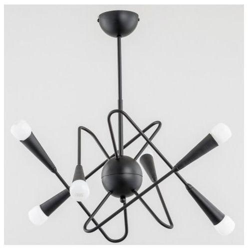 Lampa wisząca Alfa Apper 25066 6x40W E14 czarna (5900458250666)