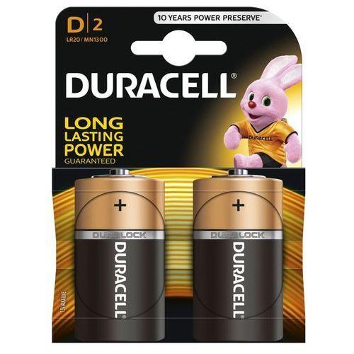 Bateria alkaliczna Duracell Plus Power LR20 D 2 sztuki