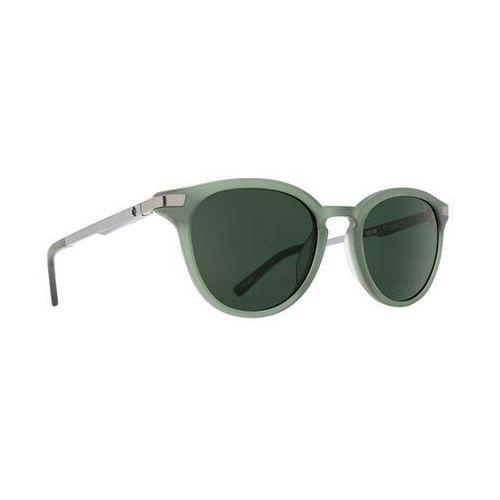 Okulary słoneczne pismo pismo matte translucent seaweed- happy gray green marki Spy