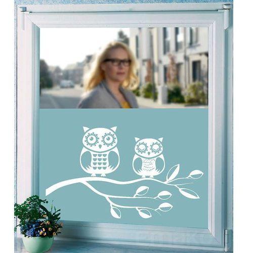 Folia okienna MOTIV samoprzylepna, 300 cm - wzór Owls, WENKO, B010BDD9BW