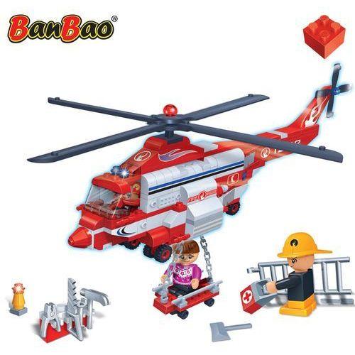 Banbao helikopter ratunkowy, zestaw klocków, 8315