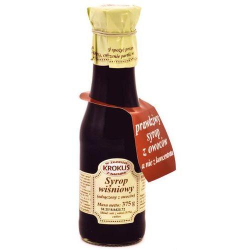Krokus 375g syrop wiśniowy tradycyjna receptura (5906732626011)