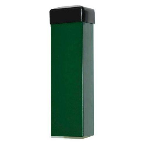 Słupek ogrodzeniowy zielony 60x40 mm h2000 marki Marketstal.pl - sprzedawca