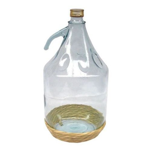 Terdens Balon do wina w koszu wiklinowym 5 l z uchwytem (5901733004073)