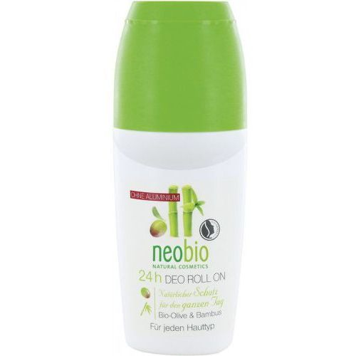 Dezodorant kulka oliwkowo - bambusowa bio 50ml marki Neobio