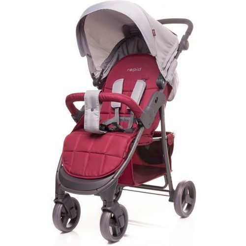 4baby wózek sportowy rapid, dark red