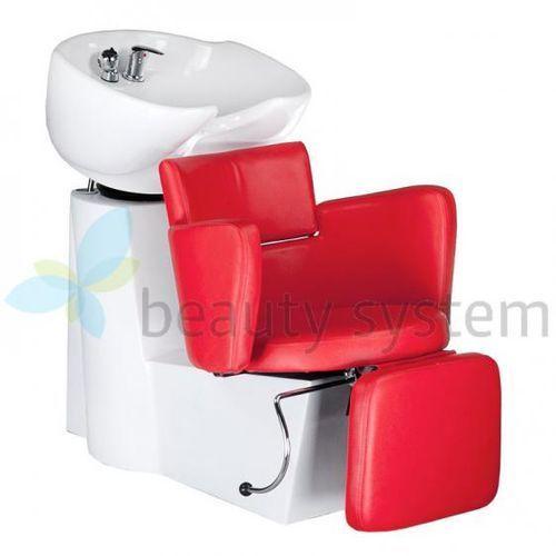 Myjnia fryzjerska LUIGI BR-3542 czerwona, kup u jednego z partnerów