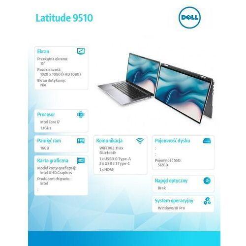 Dell Latitude 9510 N009L951015EMEA