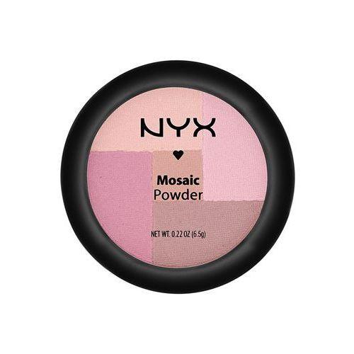 NYX Professional Makeup Mosaic pudrowy róż odcień 03 Plummy 6,5 g
