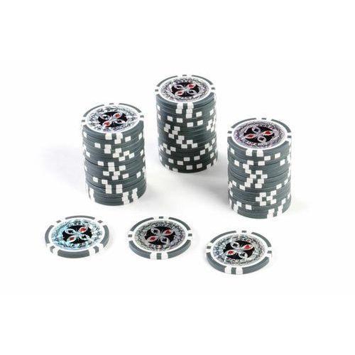 Poker nominały żetonów 50 sztuk - Żetony do pokera nominał 1