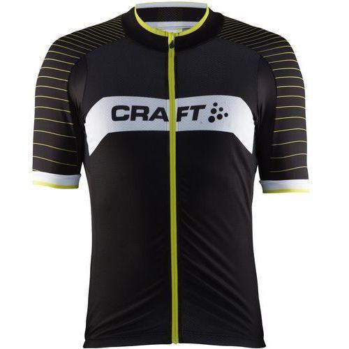 Craft Męska koszulka rowerowa Gran Fondo Czarny/Żółty M (7318572631861)